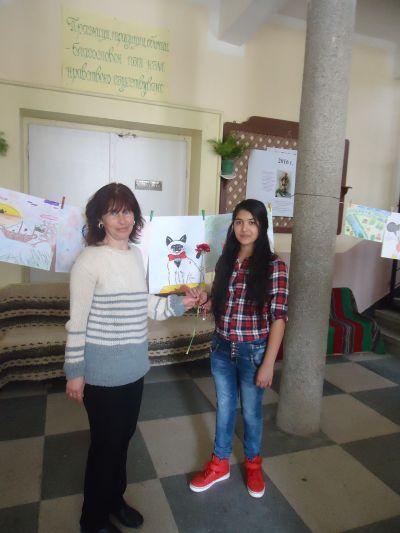 """Изложба на Виржиния Захариева """"Моят свят"""" -"""