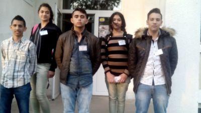 Членове на училищния парламент -